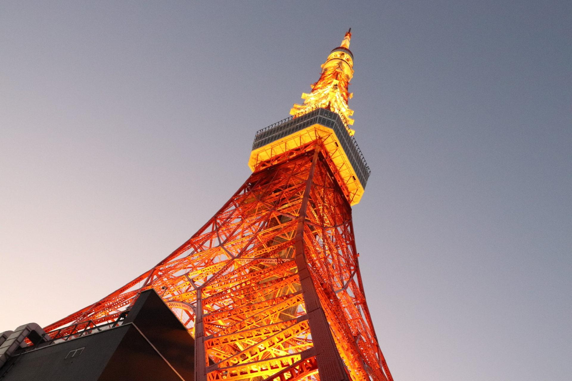 東京のシンボル・烈火の電波塔!東京タワーのリコメンド